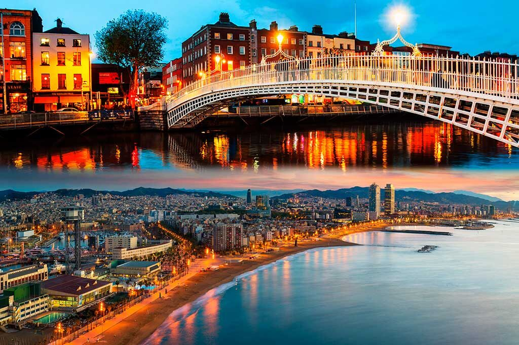 The best cities to live in Ireland and Spain ISEA